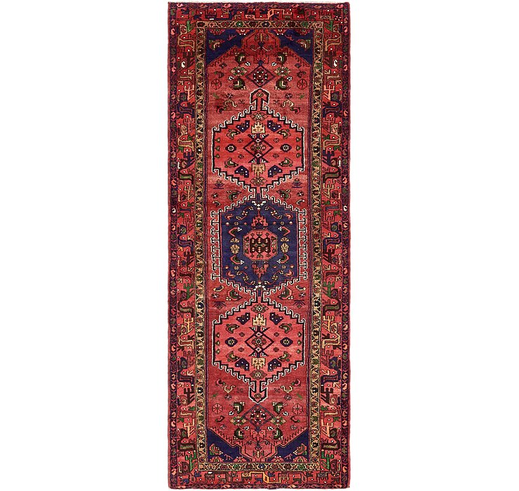 3' 6 x 9' 9 Khamseh Persian Runner ...