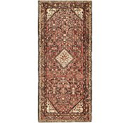 Link to 110cm x 272cm Hossainabad Persian Runner Rug