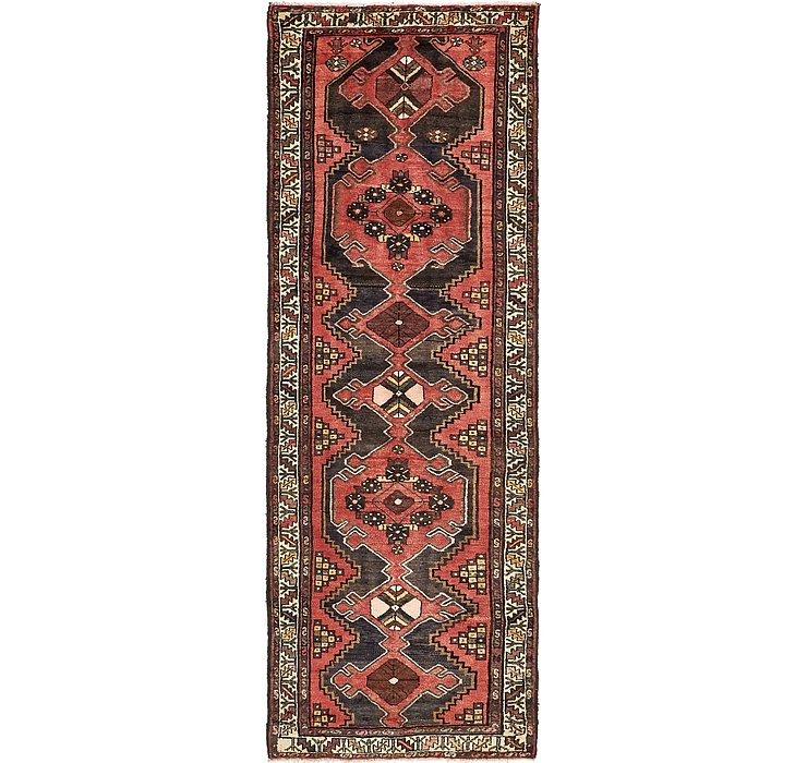 105cm x 305cm Saveh Persian Runner Rug