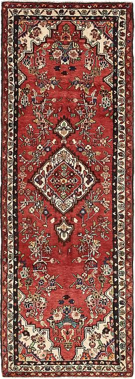 Red 3 2 X 9 1 Borchelu Persian Runner Rug Persian Rugs