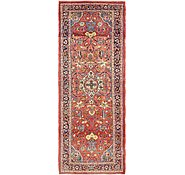Link to 3' 6 x 9' 2 Farahan Persian Runner Rug