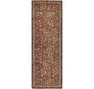 Link to 3' 8 x 10' 5 Roodbar Persian Runner Rug