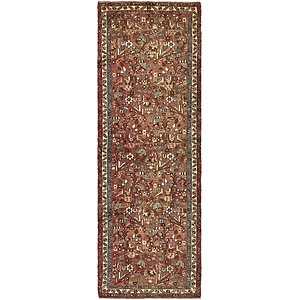 3' 8 x 10' 5 Roodbar Persian Runner ...