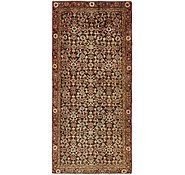Link to 4' 2 x 9' Hossainabad Persian Runner Rug