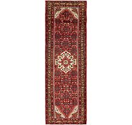 Link to 3' 10 x 11' 10 Hossainabad Persian Runner Rug