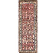Link to 107cm x 305cm Hossainabad Persian Runner Rug