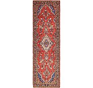 Link to 3' x 10' 3 Borchelu Persian Runner Rug