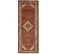 Link to 3' 10 x 10' 3 Hossainabad Persian Runner Rug
