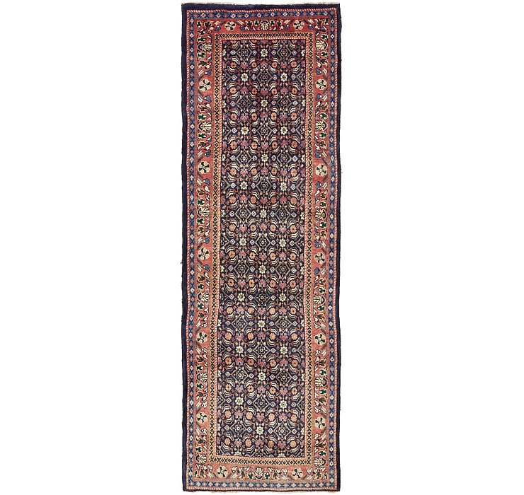3' 3 x 10' Mazlaghan Persian Runne...