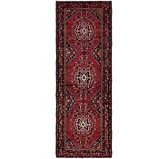 Link to Unique Loom 3' 8 x 10' 4 Zanjan Persian Runner Rug