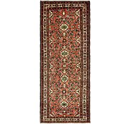 Link to 117cm x 300cm Hossainabad Persian Runner Rug