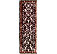 Link to 3' 5 x 10' 6 Khamseh Persian Runner Rug