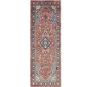 Link to 117cm x 348cm Sarough Persian Runner Rug