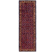 Link to 100cm x 305cm Hossainabad Persian Runner Rug