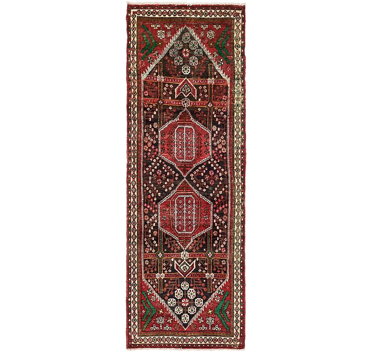 3' 4 x 9' 7 Saveh Persian Runner Rug