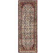 Link to 105cm x 300cm Hossainabad Persian Runner Rug