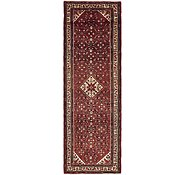 Link to 3' 10 x 11' 9 Hossainabad Persian Runner Rug
