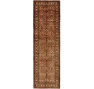 Link to 3' 7 x 12' 3 Hossainabad Persian Runner Rug