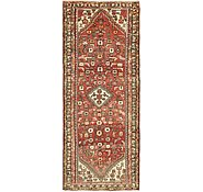 Link to 3' 10 x 9' 7 Hamedan Persian Runner Rug