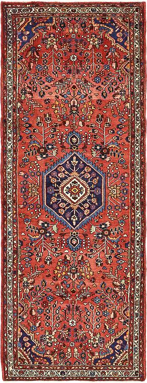 Red 3 7 X 9 6 Borchelu Persian Runner Rug Persian Rugs