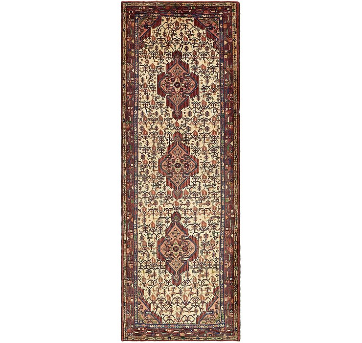 3' 6 x 10' 10 Darjazin Persian Runner...
