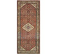 Link to 112cm x 295cm Hossainabad Persian Runner Rug