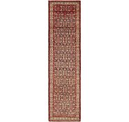 Link to 3' 6 x 14' Hossainabad Persian Runner Rug