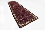 Link to 3' 7 x 12' 11 Hossainabad Persian Runner Rug
