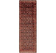 Link to 132cm x 420cm Hossainabad Persian Runner Rug