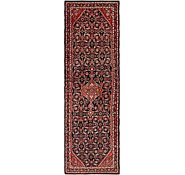 Link to 112cm x 378cm Hossainabad Persian Runner Rug