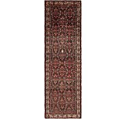 Link to 3' 10 x 13' 3 Hossainabad Persian Runner Rug