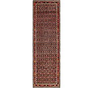 Link to 3' 8 x 12' Hossainabad Persian Runner Rug