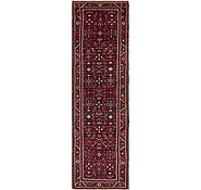 Link to 110cm x 390cm Hossainabad Persian Runner Rug