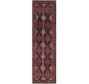 Link to 107cm x 400cm Varamin Persian Runner Rug