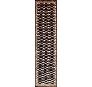 Link to 112cm x 440cm Hossainabad Persian Runner Rug