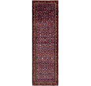 Link to 3' 10 x 13' Hossainabad Persian Runner Rug
