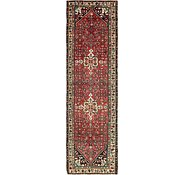 Link to 3' 5 x 12' Hossainabad Persian Runner Rug