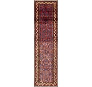 Link to 3' 9 x 13' 9 Hossainabad Persian Runner Rug