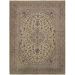 Link to 10' x 13' Kashan Persian Rug page