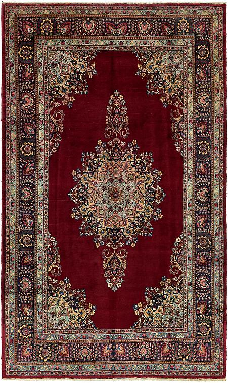 Red 7 6 X 12 10 Mashad Persian Rug Persian Rugs