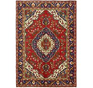 Link to 6' 8 x 9' 4 Tabriz Persian Rug