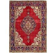 Link to 8' x 11' 2 Tabriz Persian Rug