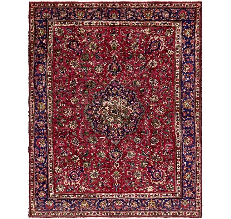 9' 10 x 12' 5 Tabriz Persian Rug