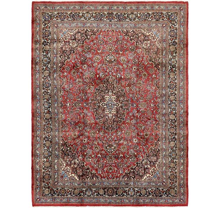 HandKnotted 9' 7 x 12' 6 Mashad Persian Rug