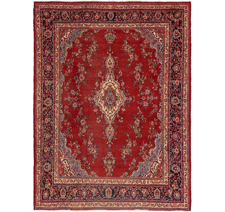 10' 2 x 13' 5 Shahrbaft Persian Rug