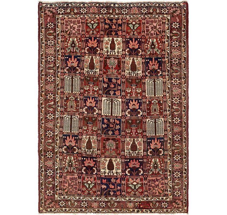 6' 7 x 10' 2 Bakhtiar Persian Rug