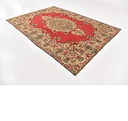 Link to 7' 9 x 11' Tabriz Persian Rug