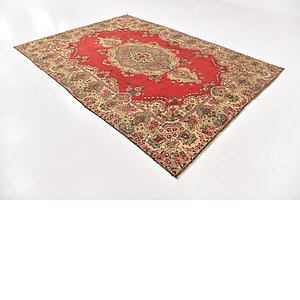 Unique Loom 7' 9 x 11' Tabriz Persian Rug