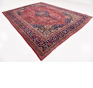 Link to 9' 7 x 12' 7 Mashad Persian Rug