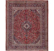 Link to 9' 9 x 11' 7 Mashad Persian Rug